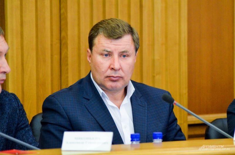Депутат ЕГД 6 созыва Сергей Мелёхин.
