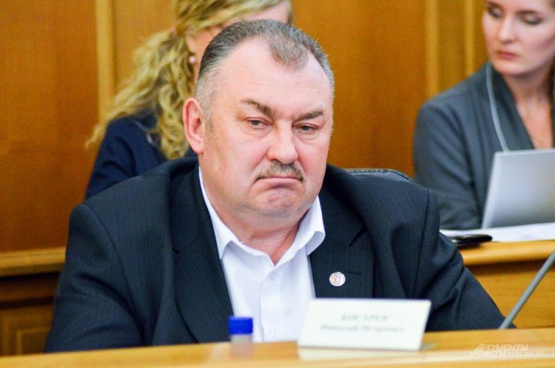 Бывший ректор Уральского горного университета Николай Косарев.