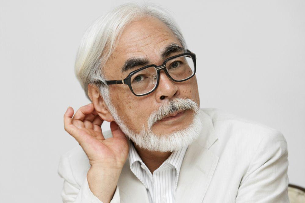 Хаяо Миядзаки («Мой сосед Тоторо», «Унесенные призраками», «Ветер крепчает»).