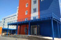 Новая поликлиника на Левобережье в Омске.