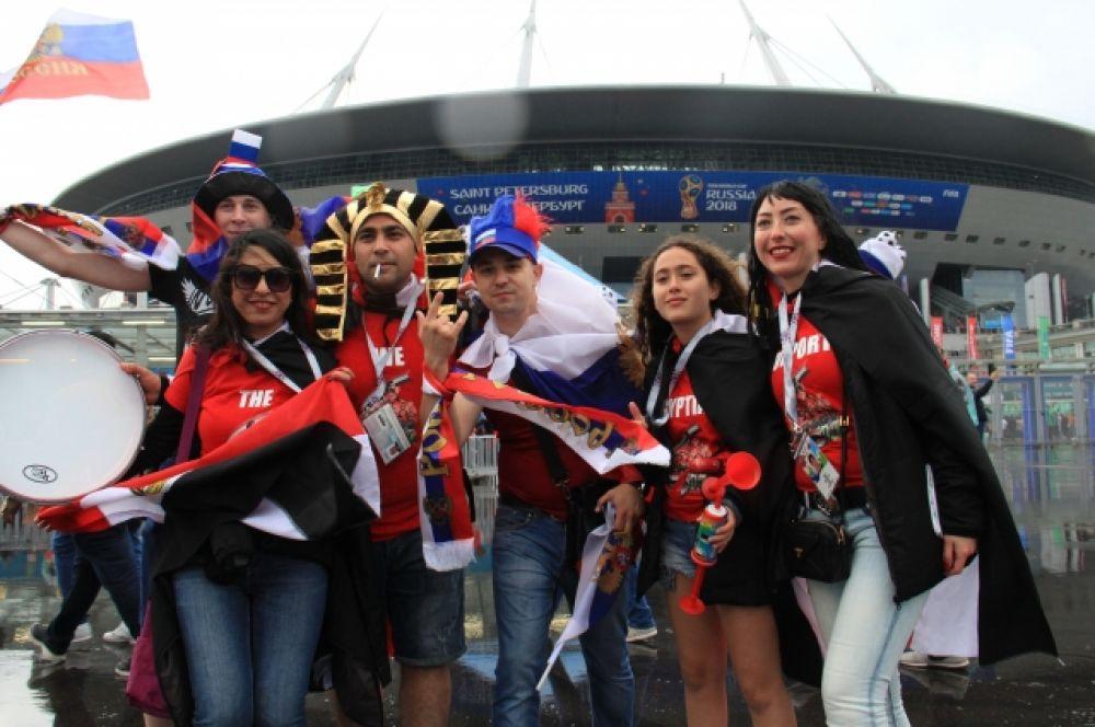 """Игра пройдет на стадионе """"Санкт-Петербург""""."""