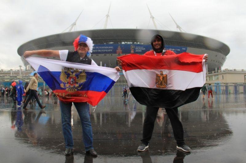 Болельщики России и Египта доказали, что и между соперниками могут быть хорошие отношения.