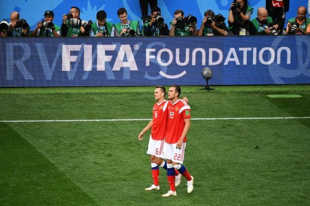 Черышев и Дзюба вошли в стартовый состав сборной России на матч с Египтом