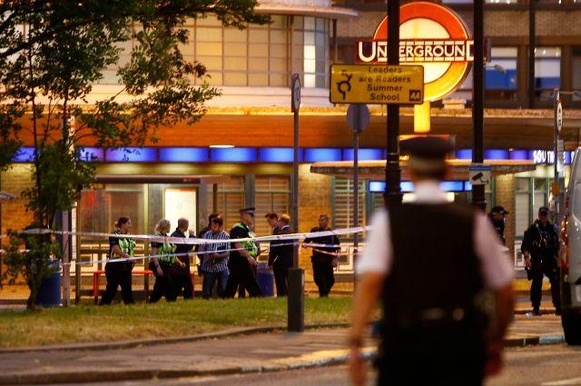 Взрыв произошел настанции метро встолице Англии