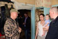 Жителям Антипаюты, пострадавшим от паводка, окажут помощь