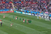 Александр Головин забил финальный гол в матче между сборными России и Саудовской Аравии на ЧМ-2018.