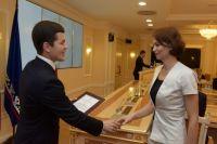 Дмитрий Артюхов поздравил Счётную палату округа с юбилейной датой