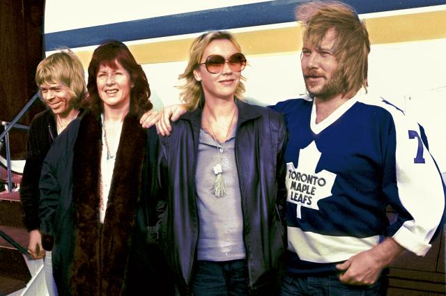 Воссоединившиеся участники ABBA опубликовали первое фото