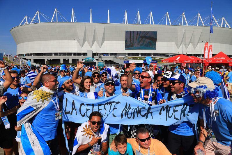 Но это не помешало десяткам тысяч болельщиков прийти на стадион «Ростов-Арена».