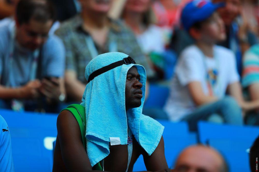 Болельщиков «Орлов пустыни» на стадионе было совсем немного.