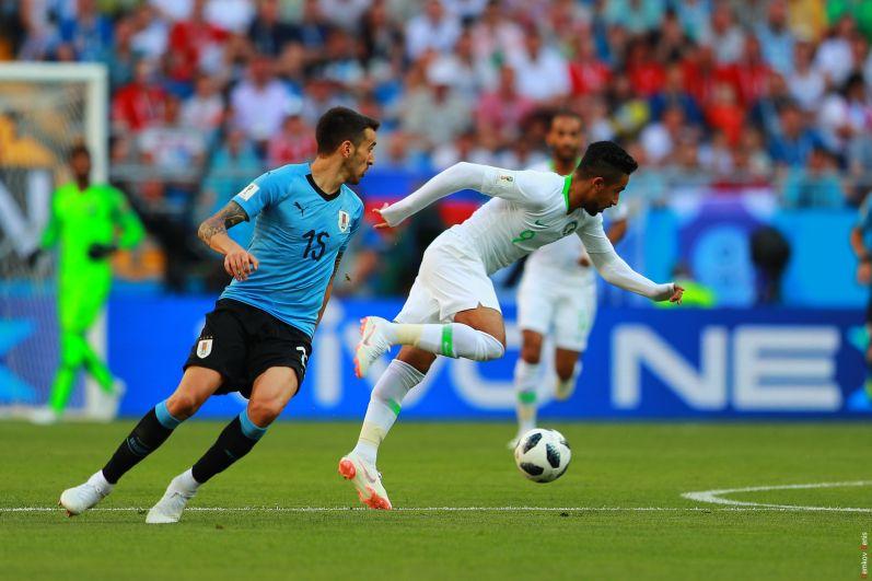 Полузащитник сборной Уругвая Матиас Весино.