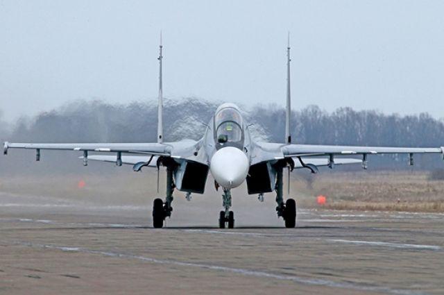 Самолет сел в Новосибирске.