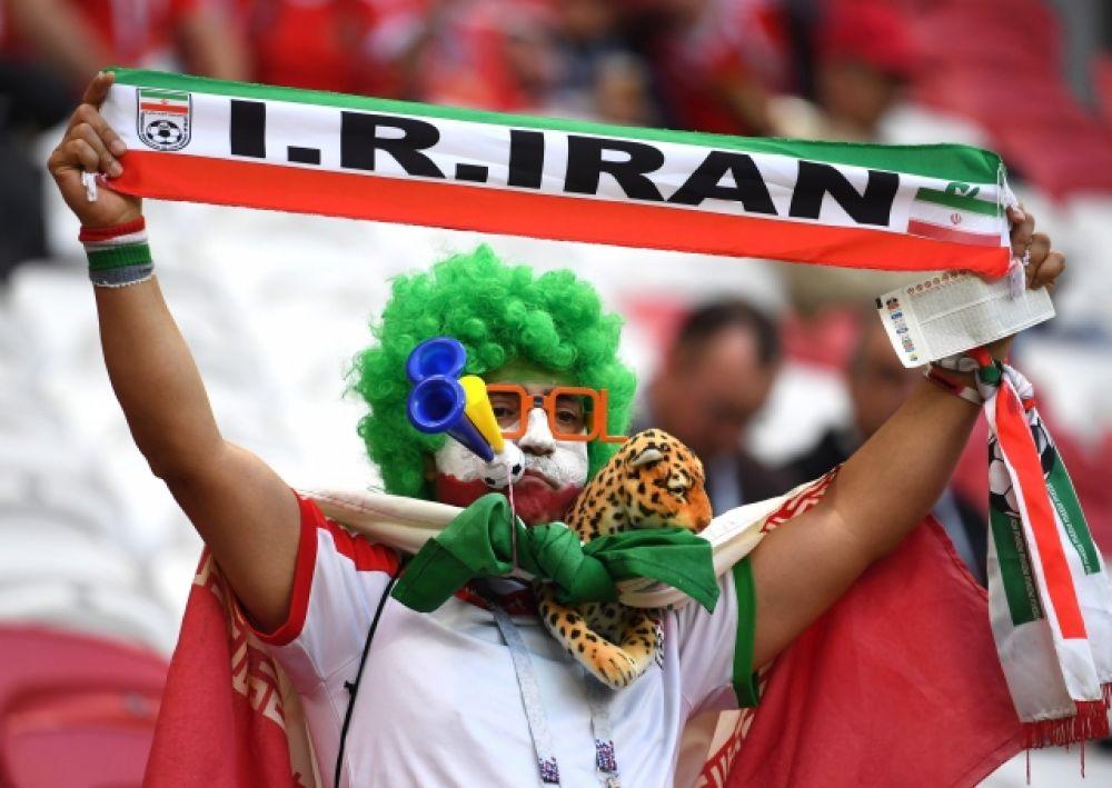Один из самых ярких представителей иранской трибуны.
