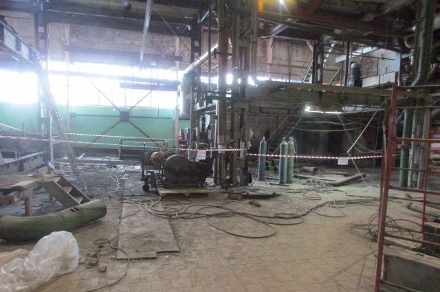 Инцидент произошел в производственном корпусе ОАО «Атмис-Сахар».