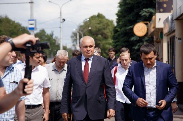 Сергей Цивилев посетил южную столицу Кузбасса в рамках рабочей поездки.