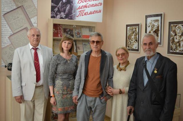 Тюменской библиотеке присвоили имя писателя Ивана Ермакова