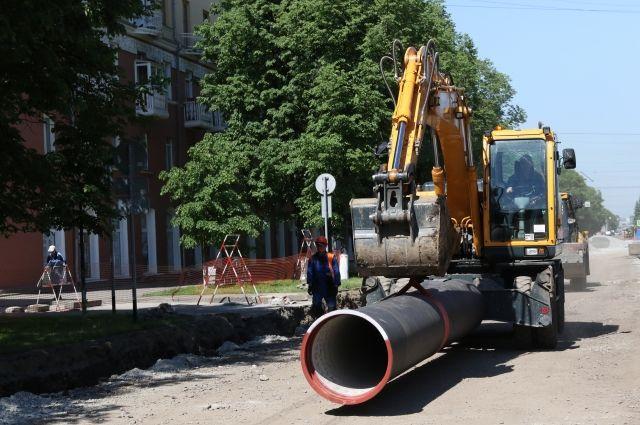 Новая ливневая канализация сделана из современного высокопрочного чугуна.