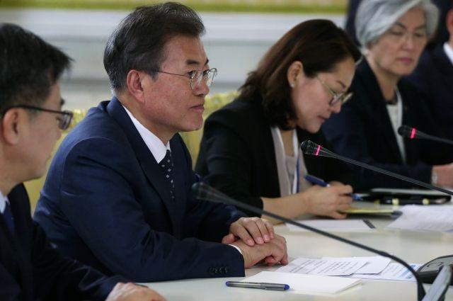 Мун Чжэ Ин рассказал о роли России во внешней политике Южной Кореи