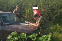 В Луганской области двое мужчин на авто попытались «прорваться» в Россию