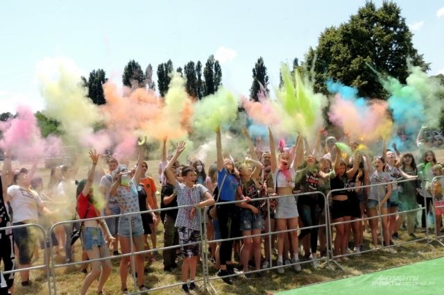 Фестиваль красок пройдёт на площадке у Комсомолла.