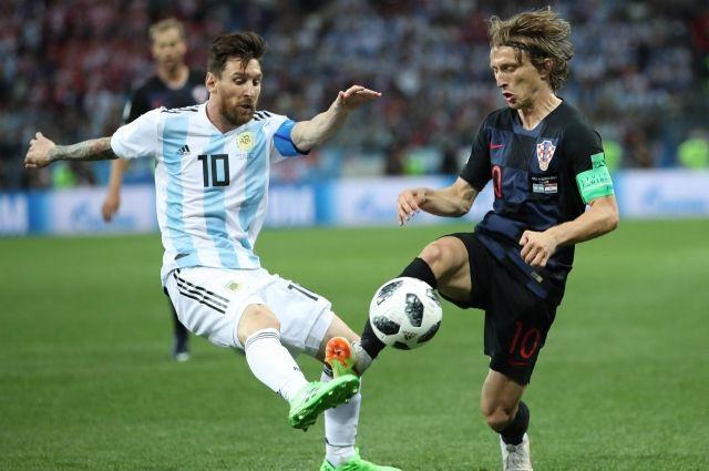 Лео Месси не оправдал надежд болельщиков, а лучшим футболистом матча признан Лука Модрич.