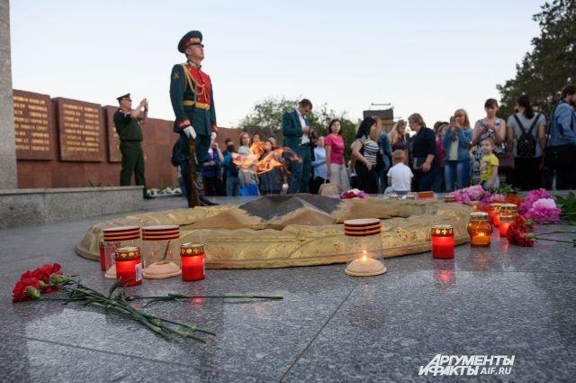 «Свеча памяти» в Оренбурге.