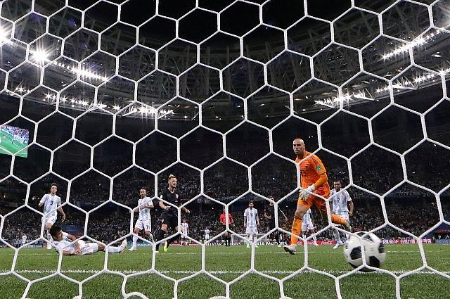 Фаната сборной Аргентины лишили доступа на ЧМ после оскорбления россиянки