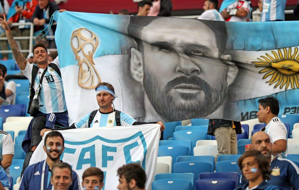 Лео Месси — главная надежда аргентинских болельщиков