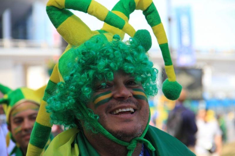 Гости из Бразилии устроили настоящий карнавал.
