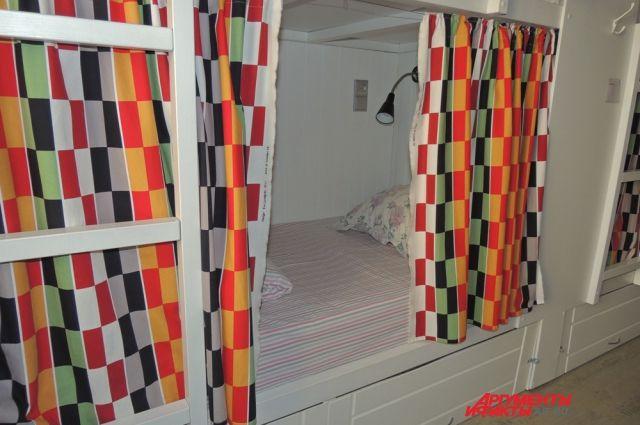 В некоторых хостелах можно встретить даже дизайнерский ремонт.