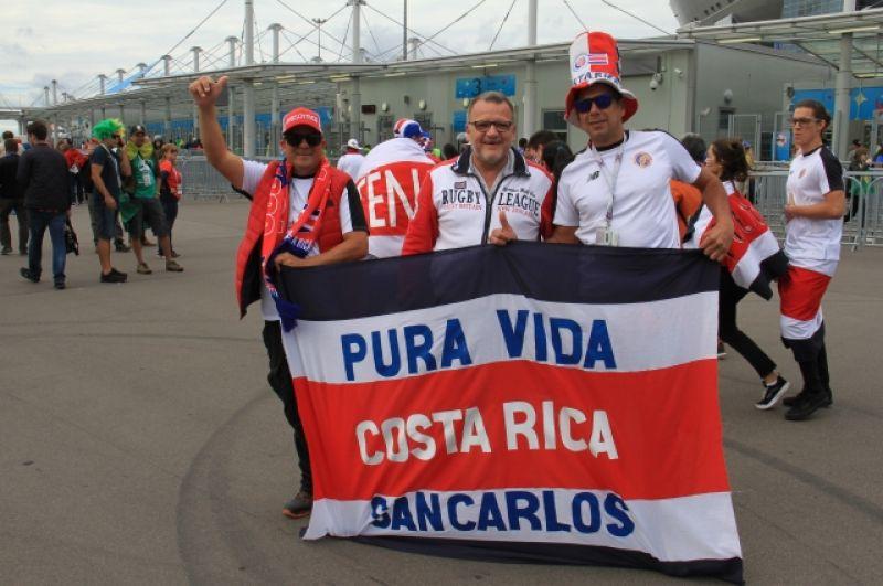 Костариканцы не собираются уступать.