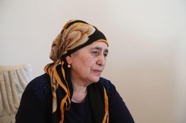От рук террористов погибли муж и трое сыновей Зейнап Угурчиевой.
