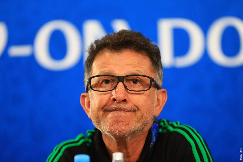 Главный тренер Хуан Карлос Осорио.