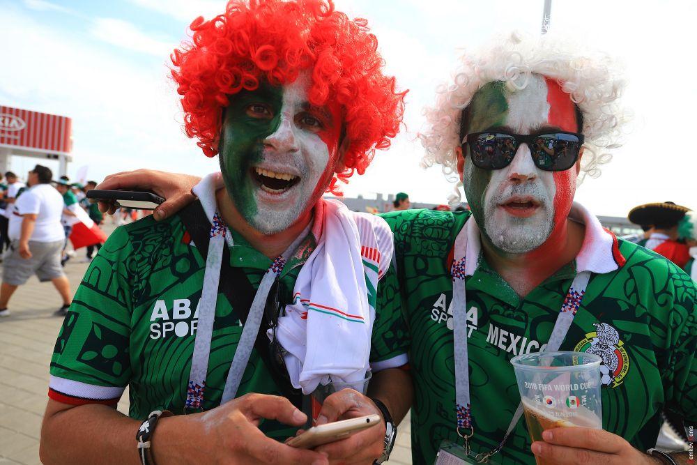 Болельщики «Трёхцветных» незадолго до матча.