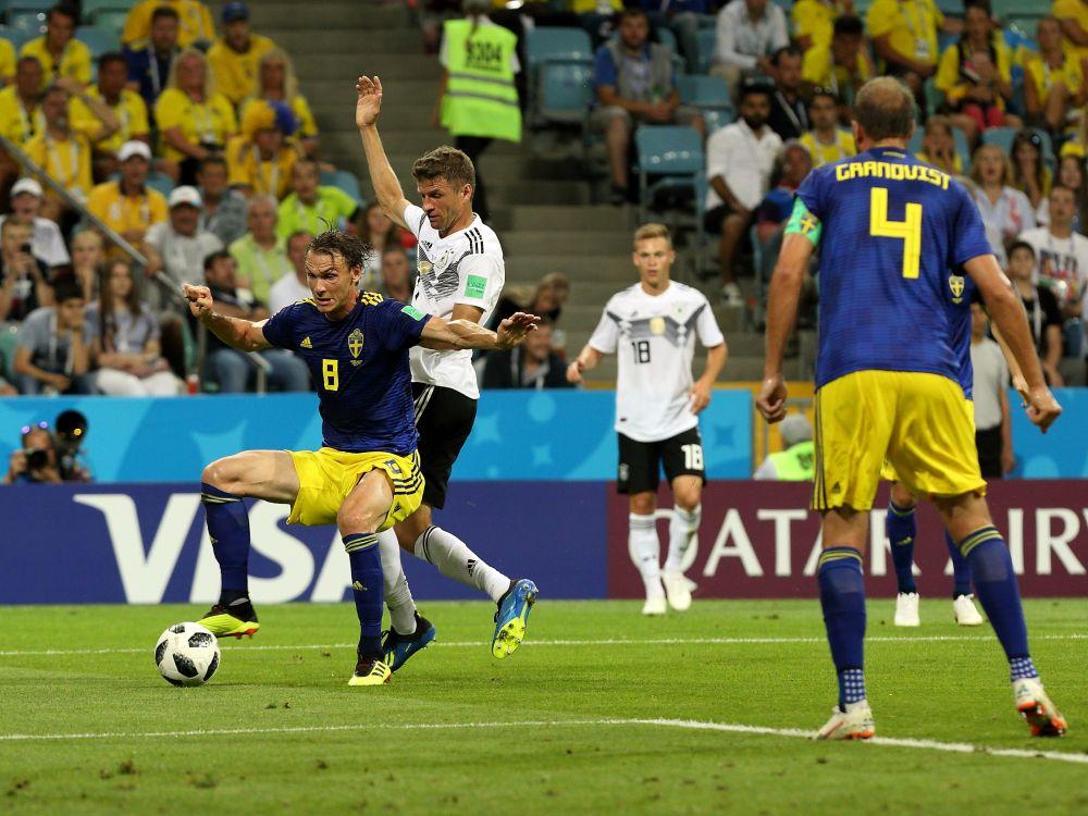 Томас Мюллер реализовал 10 из 14 голов в рамках ЧМ. Но в матче с Мексикой он остался единственным, кто не нанес ни одного удара по воротам соперника.
