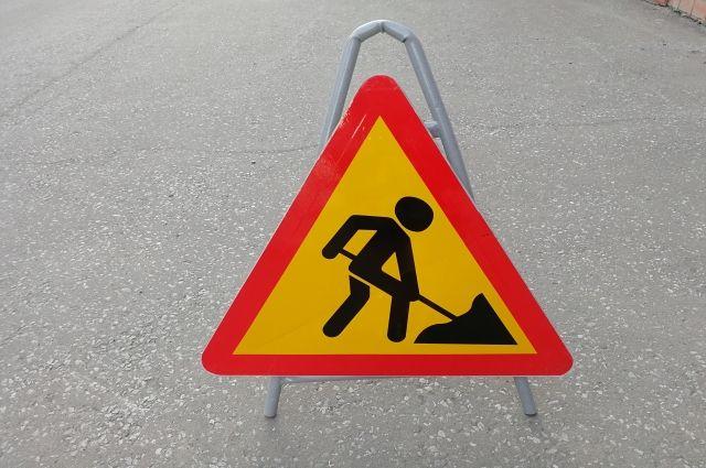 В Салехарде перекрыли дорогу от Губкина до Подшибякина