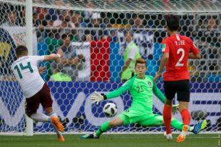 Нападающий сборной Мексики Хавьер Эрнандес по прозвищу Чичарито забил 50-й гол за нациоальную команду.