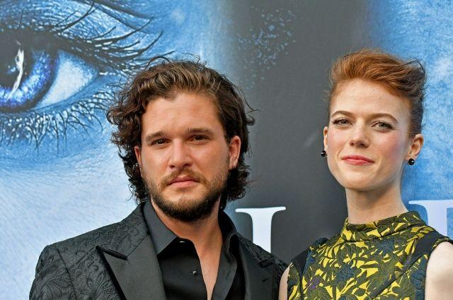 Актеры из«Игры престолов» поженились