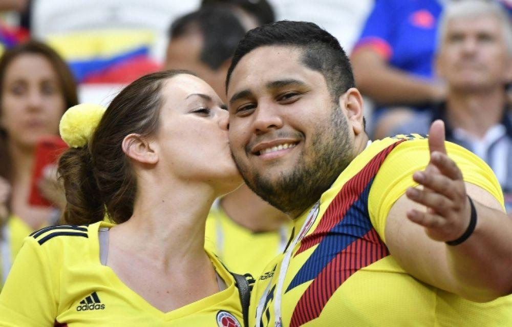 А также - пары из Колумбии.