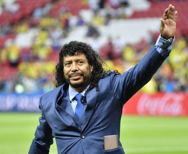 Перед началом игры колумбийцев благословил на игру легендарный вратарь Рене Игита. Кстати, он забил за карьеру более сорока мячей.