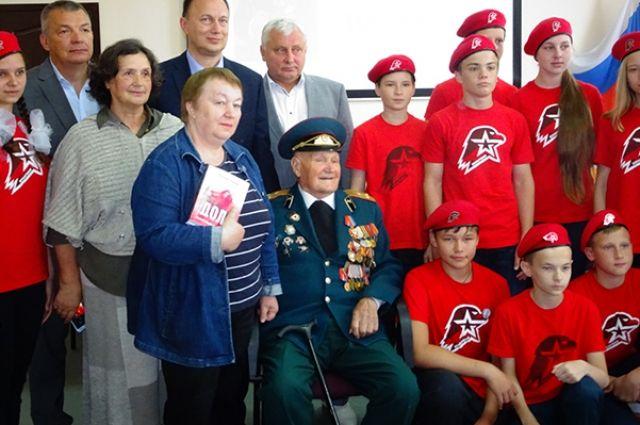 Штурмовавшему Кёнигсберг ветерану вручили орден за заслуги перед областью.
