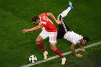 Матч группового этапа чемпионата мира по футболу между сборными России и Египта.