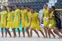 Сборная Украины по пляжному футболу одержала победу над Германией