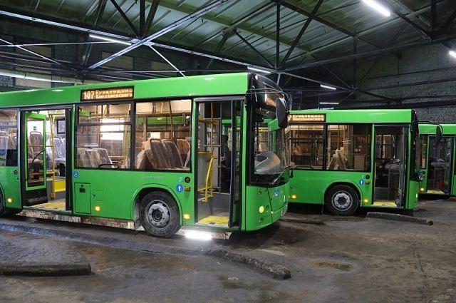 Новые автобусы пока что - капля в море.