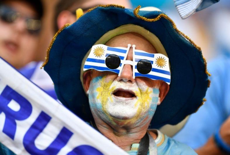 Уругвайский болельщик.
