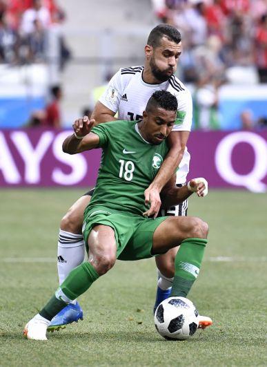 60% времени мячом владела сборная Саудовской Аравии.