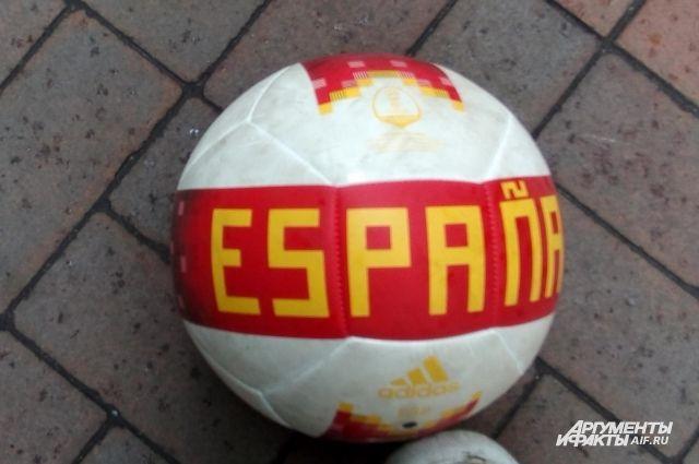 Сборная Испании сыграла вничью в Калининграде со сборной Марокко.