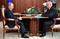 Владимир Путин и Сергей Цивилёв обсудили настоящую и будущую жизнь Кузбасса.