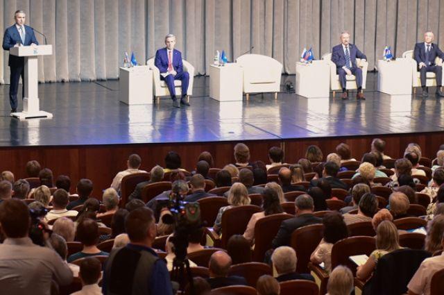 В Тюмени свои программы представили претенденты на пост губернатора от ЕР