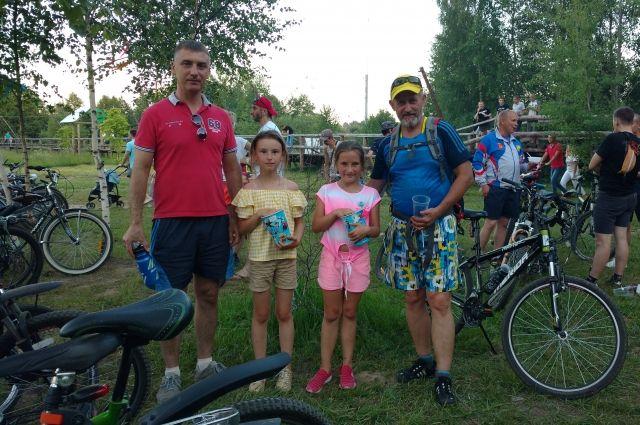 В акции участвовали более полусотни велосипедистов всех возрастов
